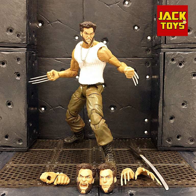 Body, Jackman, Wolverine, Position, White, Custom