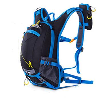 Wodoodporny plecak Outdoor Sport Camping rower turystyczny torba MTB kolarstwo rower plecak nawadniający z torbą na wodę i osłoną przeciwdeszczową tanie i dobre opinie CN (pochodzenie) 45cm Nylon Plecaki 0 8kg Water Bag Camping Hiking Cycling 22cm 18L water backpack 26cm