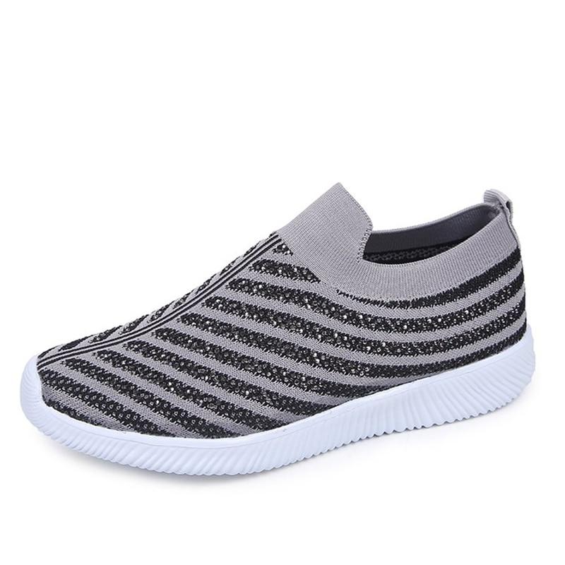 Women Shoes Slip On Women Sneakers 2020 hot Women Vulcanize Shoes Basket Femme Sock Shoes Women Flats Tenis Feminino 43 2
