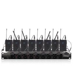 Profesjonalny mikrofon bezprzewodowy  ośmiokanałowy bezprzewodowy zestaw słuchawkowy  mikrofon do mowy w szkole kościelnej