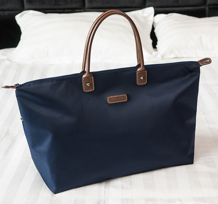 Classic French Style All-Purpose Hobos Nylon Waterproof Durable Women Totes Bag Large Urban Commuter Shopping Bag Casual Daybag