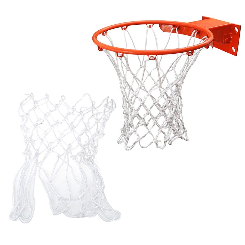 1 шт., Высококачественная прочная нейлоновая нить стандартного размера, спортивная баскетбольная сетка обруч, обод для задней панели Баскетбольные мячи      АлиЭкспресс