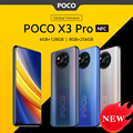 Globale Version POCO X3 Pro NFC Handy 6GB 128GB / 8GB 256GB Snapdragon 860 120hz DotDisplay 48MP Kamera 5160 Batterie 732G
