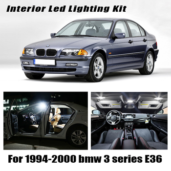 16pcs LED Interior reading Lights bulb full Kit for 1994-2000 bmw 3 series E36 Compact Hatchback 316g 316i 318tds 318ti 323ti image