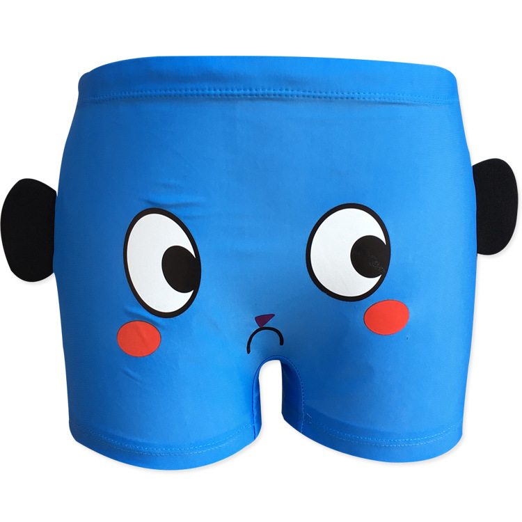 Creative Explosion BOY'S Small CHILDREN'S Children Baby 2-10-Year-Old Boxer Young Children Swimming Trunks-Kids Swimming Trunks