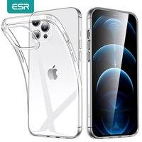 ESR para iPhone SE de 2020 caso TPU claro transparente iPhone Caso 13 12 Pro Max 11 Pro X XR XS Max 8 7 Plus 6s caso Funda