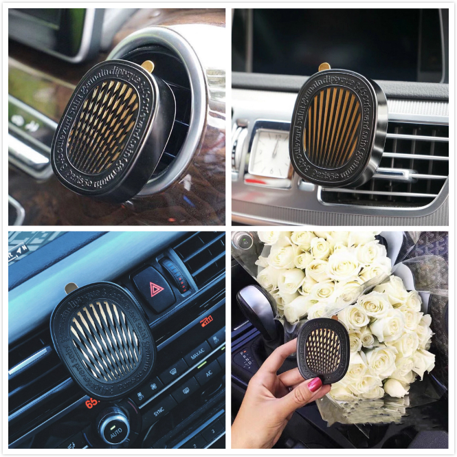 Car air outlet Aromatherapy fashion rabbit head style car accessories air freshener