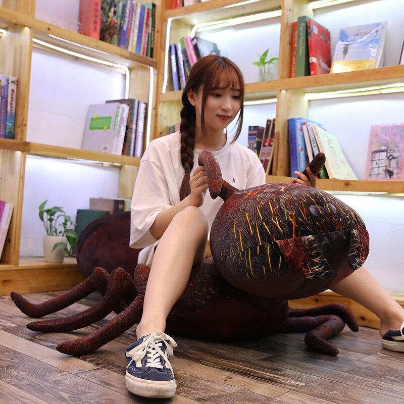 Giant Plush Red Ant Stuffed Soft Mini Animal Toy Creative Plushie Insect Decor Kids Boys Girls Grownups Gift 46/70/100cm