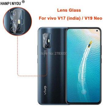 Перейти на Алиэкспресс и купить ДЛЯ vivo V17 (Индия)/V19 Neo Clear Ultra Slim Back Camera Lens Protector задняя крышка для камеры защитная пленка из закаленного стекла