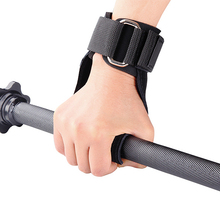 High Quality Wrist Lifting Grip With Wrist Support Gymnastic Strap And Hooks Fitness Gloves Dumbbell Training Protector One Size