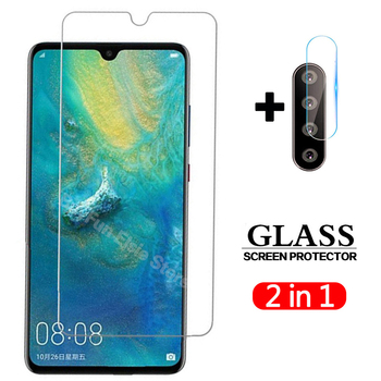 2 in 1 Tempered Glass On For Huawei P30 lite Camera lens Screen Protector Film Protective Glass For Huawei P30lite P 30 Light 1