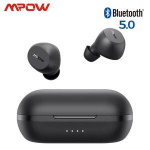 Mpow M12 TWS настоящие беспроводные наушники iPX8 водонепроницаемые 25h Playtime USB C зарядка Bluetooth наушники для iPhone 11 X Xiaomi Huawei
