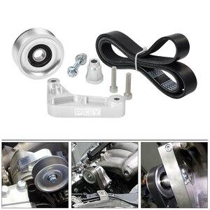 Image 2 - Kit de polea WLR ajustable EP3 para motores Honda 8th 9th Civic All K20 & K24 con tensor automático que mantiene instalado WLR CPY01 A/C