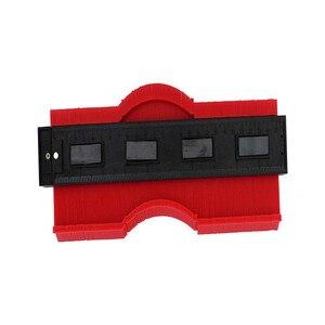 Image 4 - ASCEBDAS 10 Inch/250mm Contour Profile Gauge Tiling Laminate Tiles Edge Shaping Wood Measure Ruler