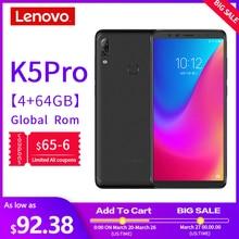 Global Version Lenovo Mobile Phone K5 Pro 6GB+64GB Smartphone Snapdragon 636 Oct