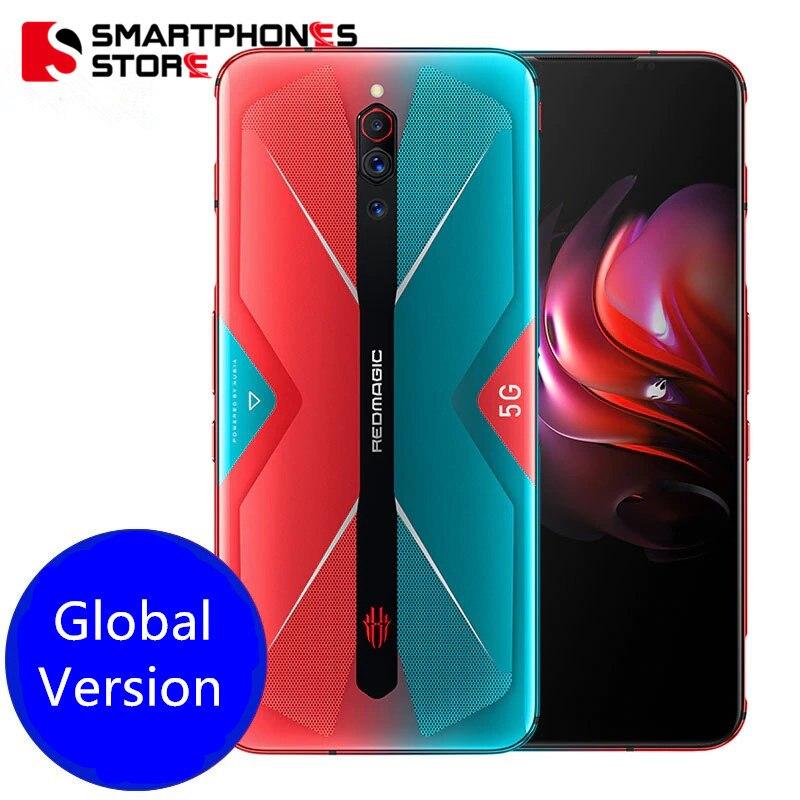 Глобальная версия Red magic 5G игровой мобильный телефон андроид 10 Snapdragon 865 рамка Redmagic 5g 6,65 ''AMOLED Turbo 64MP отпечатков пальцев 4500 мАч HDMI
