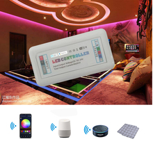 Magic Home  5Channel Smart Wifi LED Strip Controller RGB+CCT RGBW RGBWW RGB Compitable Working With Alex And Google