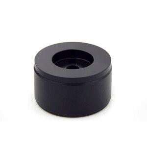Image 4 - HIFI الصوت أمبير الألومنيوم حجم المقبض 1 قطعة قطر 38 مللي متر الارتفاع 22 مللي متر مكبر للصوت الجهد المقبض