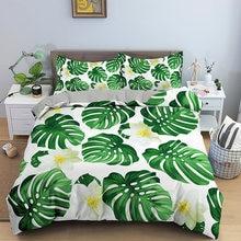 Комплект постельного белья с тропическим лесом постельное белье