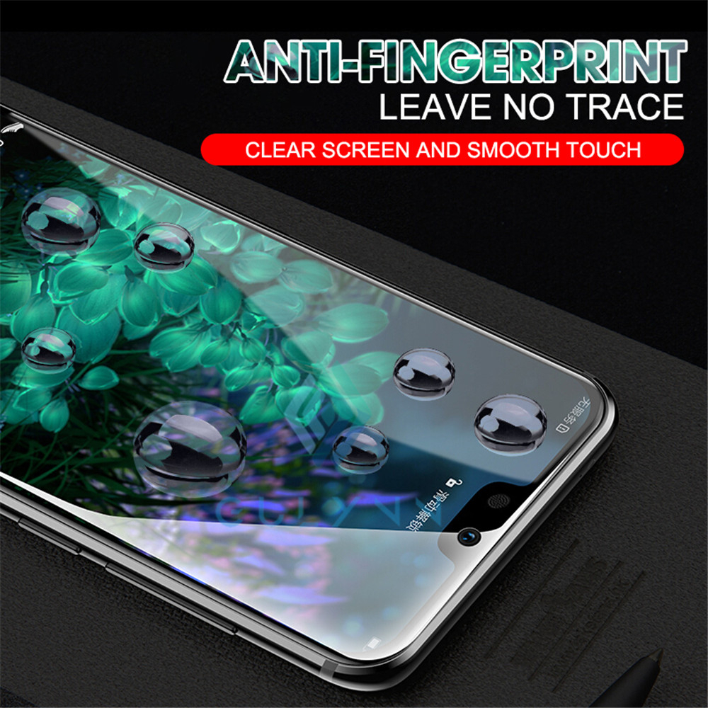 Front Back 31D Soft Silicone Hydrogel Screen Protector TPU Clear Film For Samsung Galaxy S9 S10 Plus A30 A50 A70 A80 M20 Cover in Phone Screen Protectors from Cellphones Telecommunications