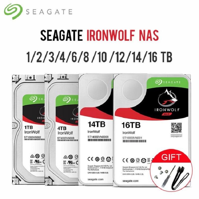 "Seagate IronWolf SATA3 HDD interface 64MB 128MB 256MB Cache 6Gb/s 5900RPM 7200RPM 3.5"" Internal Hard Drive Disk For Desktop|External Hard Drives| - AliExpress"
