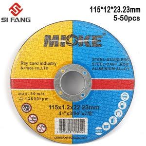 Image 4 - 115mm Metall & Edelstahl Trennscheiben Trennscheiben Klappe Schleifen schleifen Discs Winkel Grinder Rad 5Pcs  50Pcs
