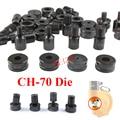 Гидравлические пробивные круглые формы для выпечки CH-70 круглые отверстия штамповочные гидравлические штампы ручные штамповочные CH-70 пресс...