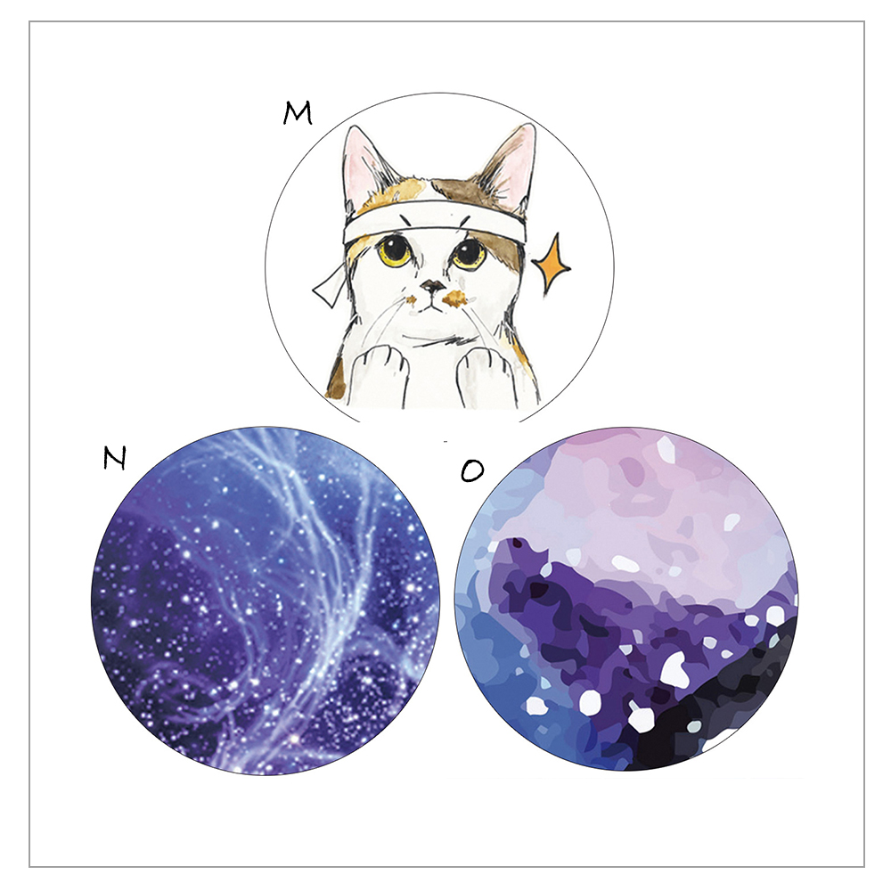 DIY Paper Japanese Washi Masking Tapes Cute Cat Blue Star Space Decoration Adhesive Tapes Scrapbooking  Alideco