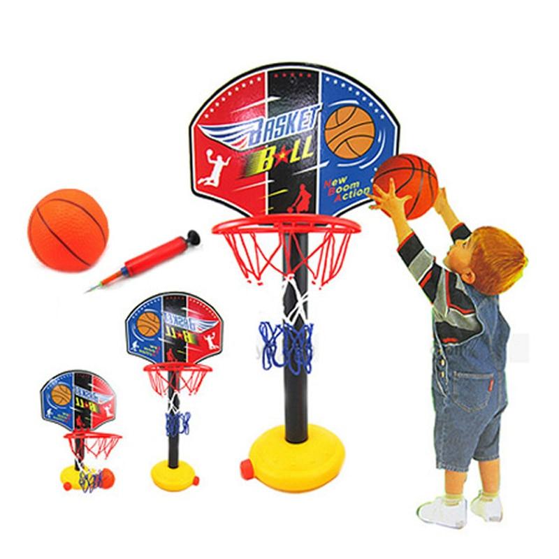 Kids Basketball Hanging Hoop Indoor Basket Ball Stand Mini Adjustable Basketball Board Family Basket Game Basketball Toy Set