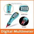 Multímetro Digital de tipo bolígrafo portátil True RMS NCV 6000 Count medidor electrónico de abrazadera amperímetro voltímetro ohmetro prueba de aislamiento