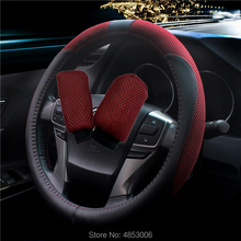 Car steering wheel cover, Car Steering wheel three-piece suit,Universal steering wheel cover Diameter 38CM hot sale car steering wheel cover ethnic style car steering wheel covers car accessories linen universal pretty ethnic style