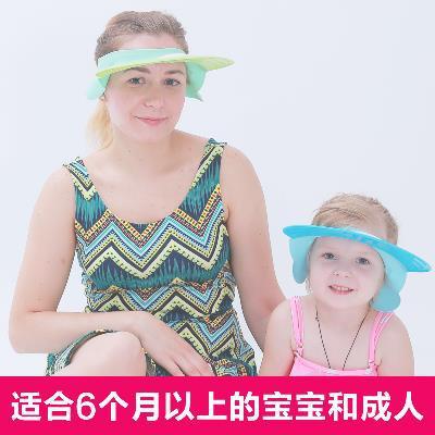 Baby Shower Cap Waterproof Earmuff Infant Bath Bath Cap Big Boy Useful Product Children Silica Gel Shower Cap Adjustable