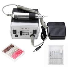 Pulidora eléctrica Pro para uñas, 30000RPM, para limas para manicura y pedicura, accesorios para manicura