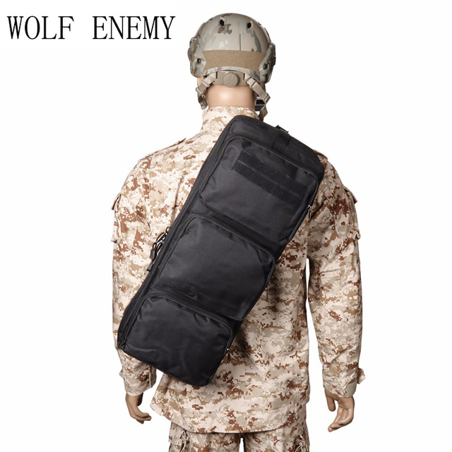 62cm/24.4'' Tactical Airsoft Rifle Backpack Hunting Shooting Gun Bag Military Army Rifle Case 1