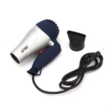 Mini Portable Foldable Handle Compact 1500W Hair Dryer Blow Dryer Hot Wind Low Noise Long Life for Outdoor Travel 220V EU