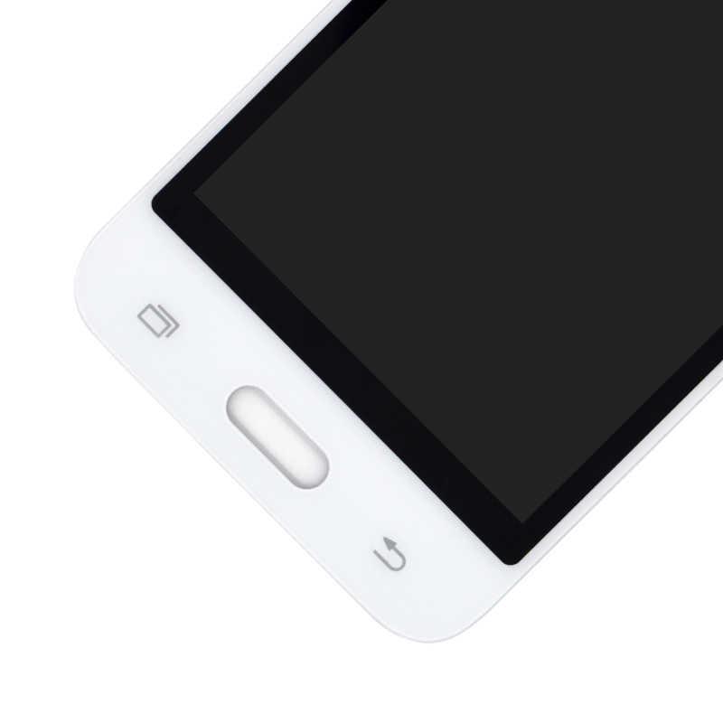 """4.5 """"شاشات lcd لسامسونج غالاكسي J1 2016 J120 SM-J120F J120H J120M شاشة الكريستال السائل + شاشة تعمل باللمس يمكن ضبط سطوع محول الأرقام الجمعية"""