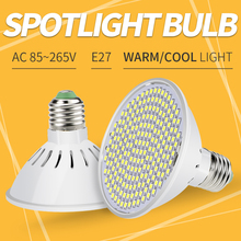 AC 85-265V LED Spotlight Led E27 Lamp Spot Light Bulb 126Leds 200Leds Lampada Led Energy Saving Lamp For Home Halogen Lighting