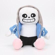 3 вида 25 см Undertale плюшевые игрушки куклы Sans Frisk Chara мягкие Мультяшные игрушки на день рождения для детей детские подарки