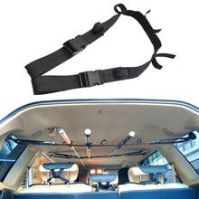 1 шт. амортизатор для рыбалки, автомобильный держатель для удочки, ремень для внедорожника, вагона, MPV, Vans