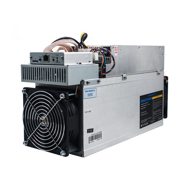 Used Innosilicon T2T 30TH/s SHA256 Bitcoin BTC BCH Miner Better Than WhatsMiner M3 M21S M20S Antminer S9 S17 T9+ T17 S17+ T17+ 1