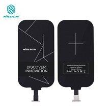 Nillkin קסם תגים QI טעינה אלחוטי מקלט מיקרו USB/סוג C מתאם עבור iPhone 5S SE 6 6 S 7 בתוספת לסמסונג S6 S7 קצה