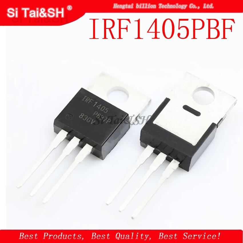 10pcs/lot IRF1405PBF TO-220 IRF1405P TO220 IRF1405 New And Original IC In Stock