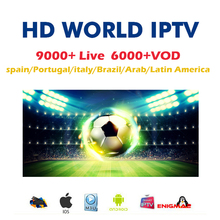IPTV M3U 9000+ Live Italy subscription iptv m3u free VOD France Sweden French Poland Spain for UK German Arabic Belgium TV box