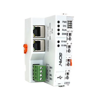 GCAN PLC 400 Ethernet PLC Modbus TCP/RTU I/O Module,Digital / Analog Input / Output Programmable Injection,Support Customization 16 transistor output switch quantity isolation 16di digital input rs485 modbus communication