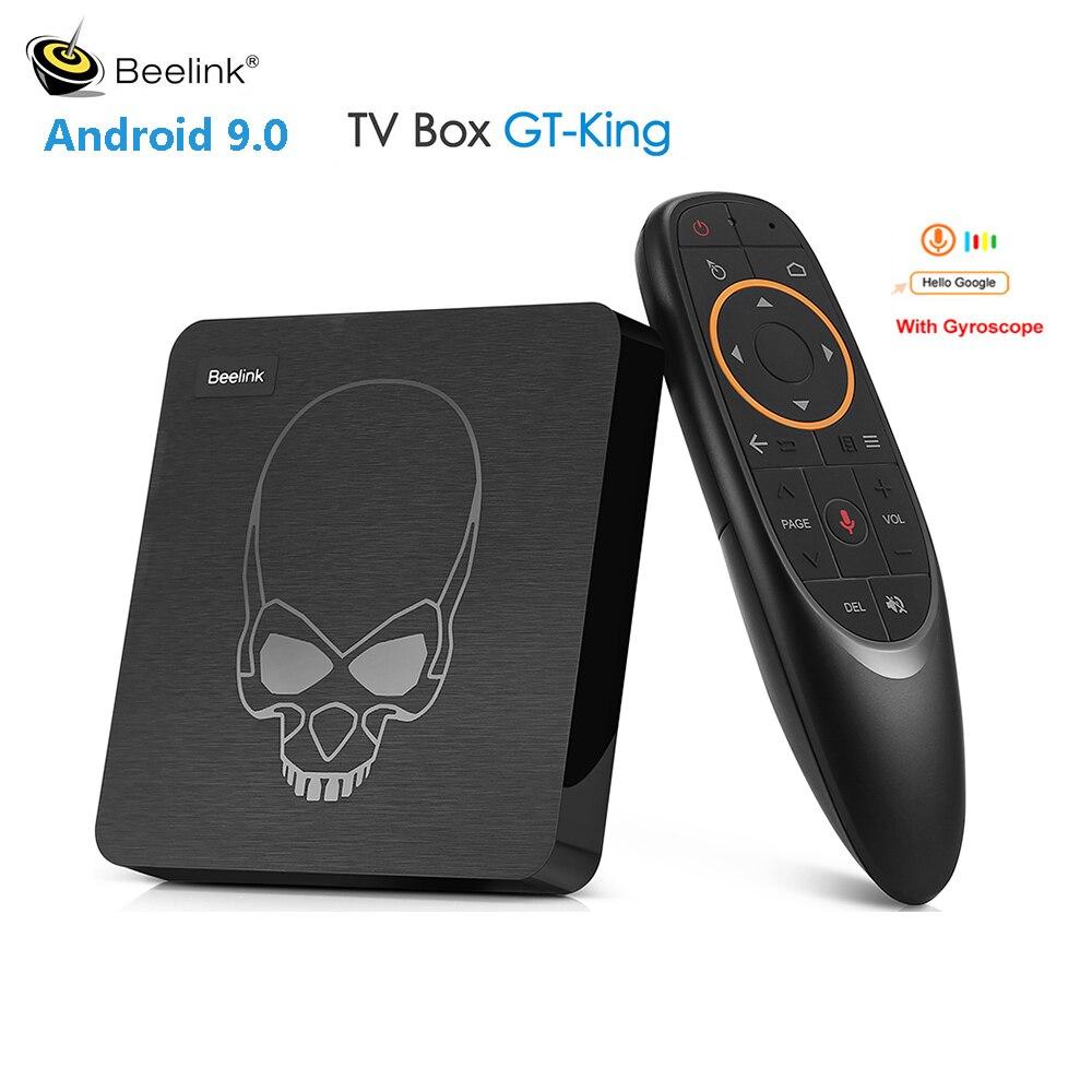 Beelink GT King Smart TV Box procesor Amlogic S922X z systemem Android 9.0 4GB DDR4 64GB ROM 4K 2.4G & 5.8G WiFi 1000 mb/s set top box sterowanie głosem w Dekodery STB od Elektronika użytkowa na  Grupa 1