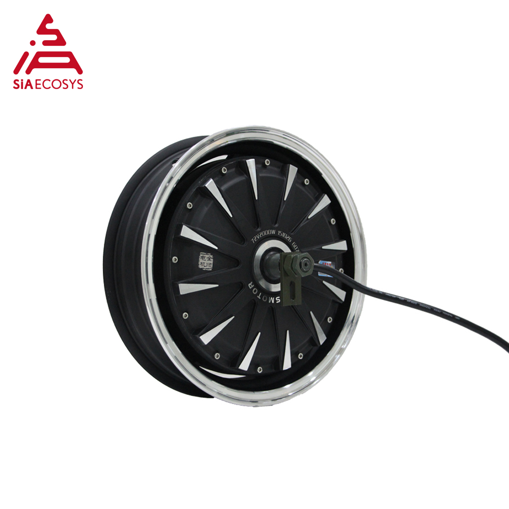 <font><b>QS</b></font> <font><b>Motor</b></font> 13*3.5inch <font><b>5000W</b></font> 260 V4 hot sale BLDC outer rotor <font><b>motor</b></font> in-wheel hub <font><b>motor</b></font> for ectric scooter image
