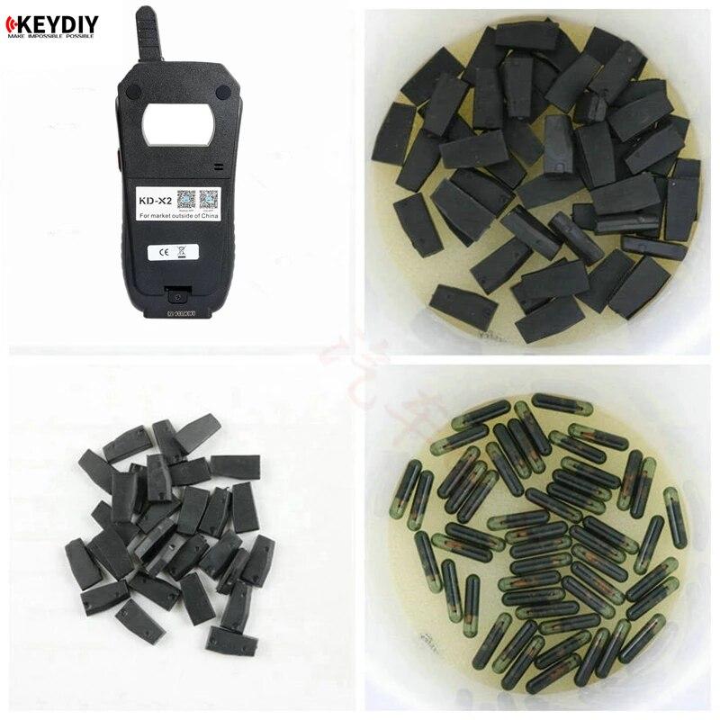 10pcs/lot KD-X2 KD 4C 4D 46 48 CN1 CN2 CN3 CN6 Car Key Clone Chip Transponder for KEYDIY KD X2 Car Key Programmer KD Clone Chip