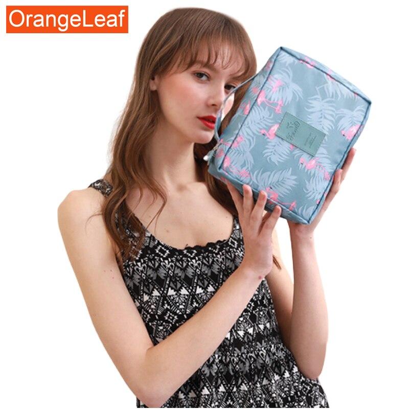 Hot Sale New Women Travel Cosmetic Bag Nylon Multifunction Makeup Bags Waterproof Portable Toiletries Organizer Make Up Cases