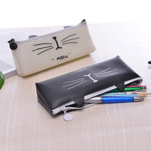 Small Pouch Storage Bag Simple Little Wallet Girls Cute Cat Jelly Coin Purse Student Pencil Case Creative Key Case Boys gravity falls reel scroll style pencil stationary storage wallet bag boys girls gift