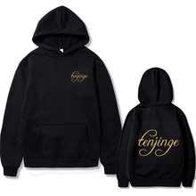 Couple Loose Hoodie Casual Hoodie Fall/Winter English Letter Tenjinge Printed Clothes Women